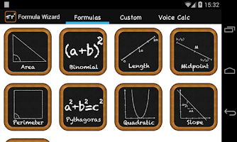 Screenshot of Math Formula Wizard