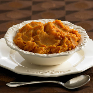 Ginger Spiced Mashed Sweet Potatoes