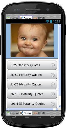 Best Maturity Quotes