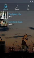 Screenshot of Ubermusic Skins: ICS Blue