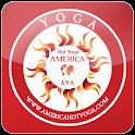 아메리카핫요가 logo