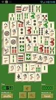 Screenshot of Solitaire Mahjong Online