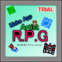 RPG MakeApp Artist Trial logo