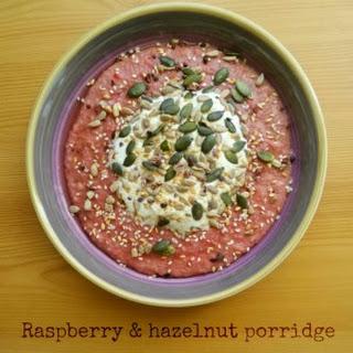 Raspberry and Hazelnut Porridge Recipe