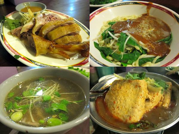 【必點煙燻鵝肉+麻辣臭豆腐】台南意麵黑白切