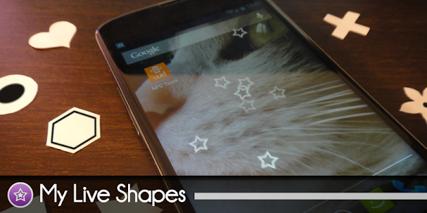 My Live Shapes - LiveWallpaper - screenshot thumbnail