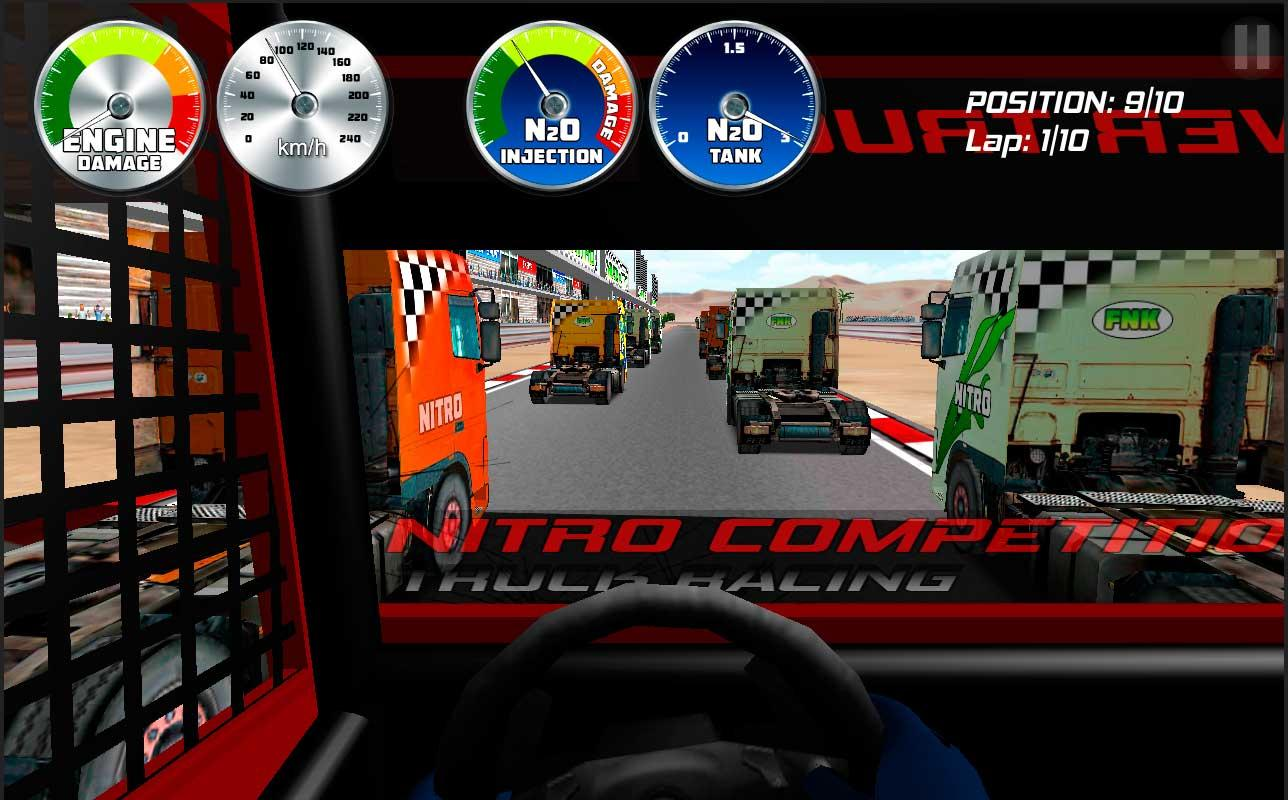 Truck Racing Nitro - screenshot