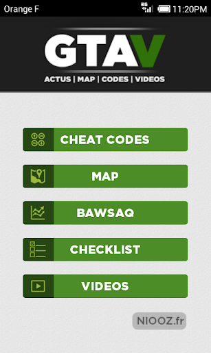 Map Cheats for GTA V