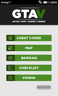 GTA V Map Cheats 31 codes