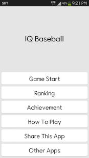 IQ Baseball