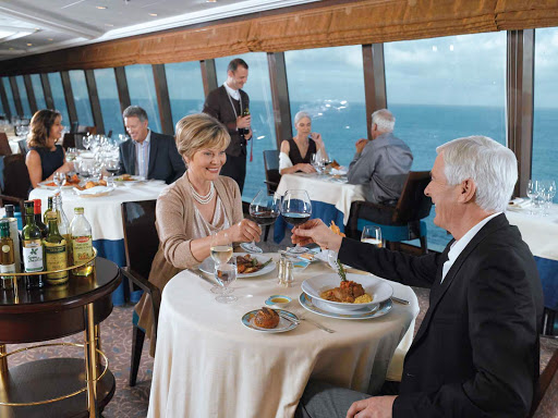 Oceania_Toscana_5-1 - Celebrate your special occasion in Oceania Marina's Italian restaurant, Toscana.