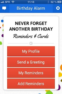 Birthday Alarm - Official App - screenshot thumbnail