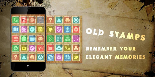 Old Stamps Theme