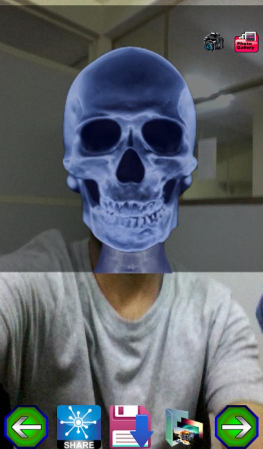 Xray Camera Scan - screenshot