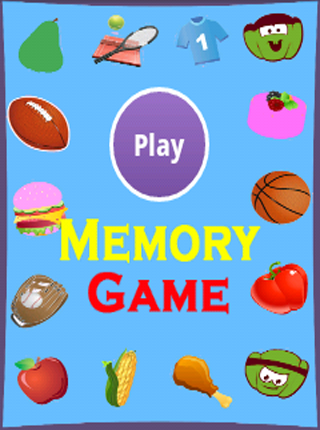 Fun Memory Game - Kids