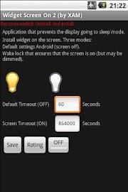 Widget Screen ON 2 Screenshot 3