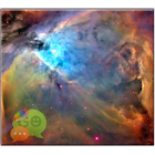 Orion Nebula GO SMS Theme Don8 icon