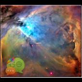 Orion Nebula GO SMS Theme Don8