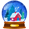 Magic Christmas Coloring Book icon