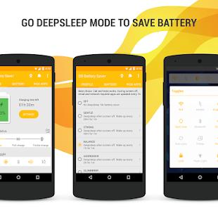 ဖုန္းအားျပည့္သြားရင္ Auto အားမသြင္းေတာ့တဲ့ - Deep Sleep Battery Saver Pro v4.7 Apk