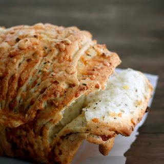 Cheesy Garlic Herb Pull-apart Bread.