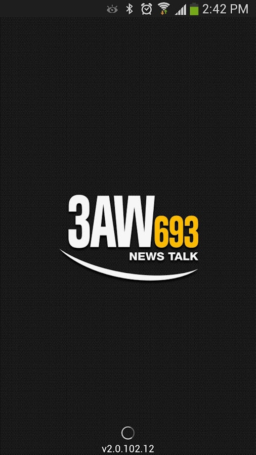Radio 3AW - screenshot
