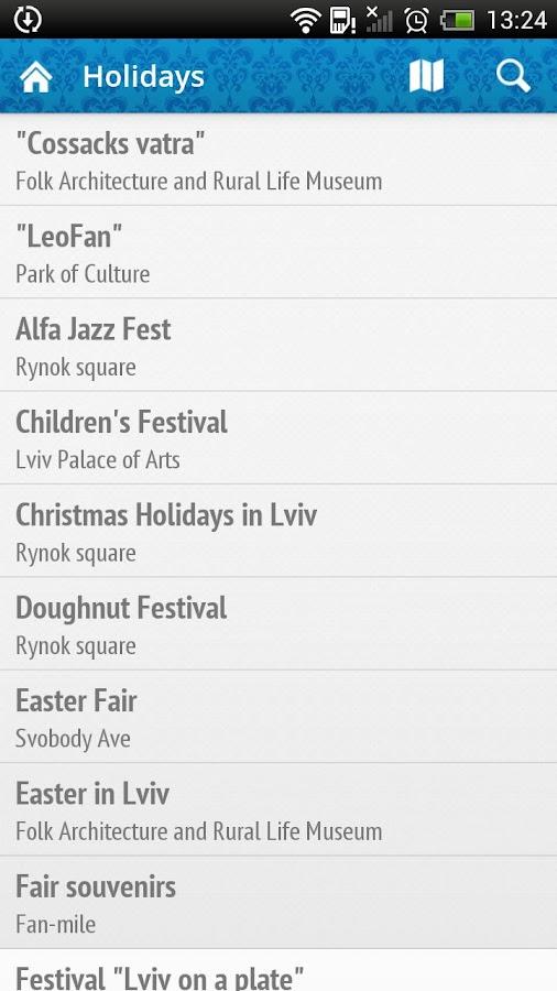 Lviv Events Guide- screenshot