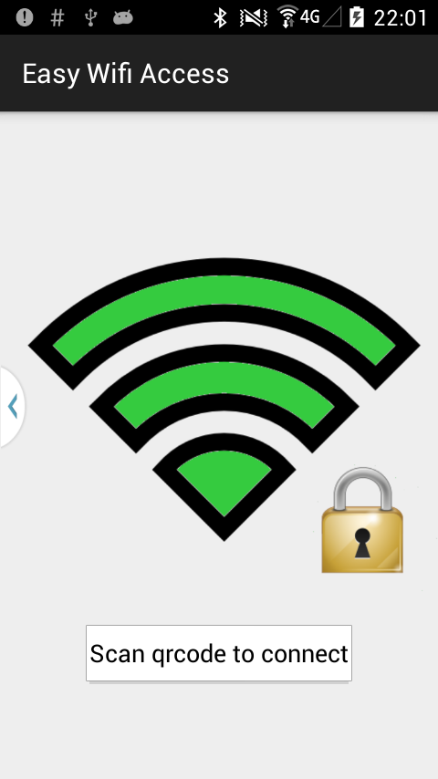 Easy Wifi Access- screenshot