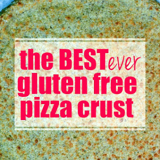 The BEST Low-Carb, Gluten Free Pizza Crust Ever.