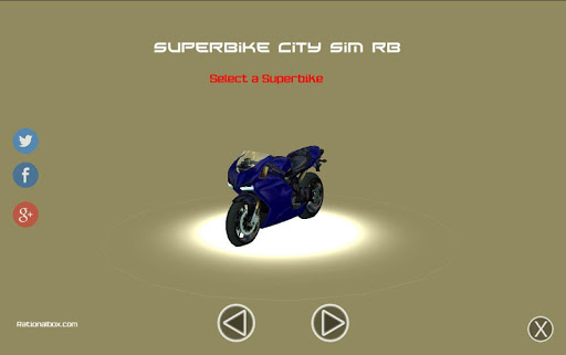 Superbike City Sim RB
