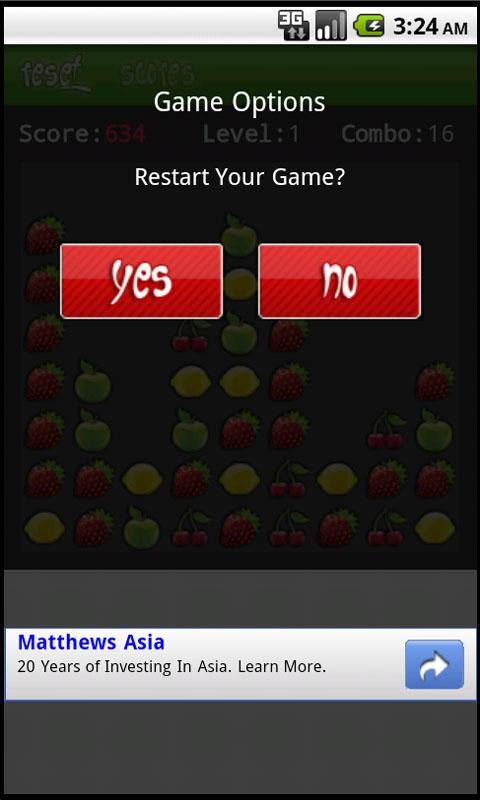 Fruit Pop Free Version- screenshot