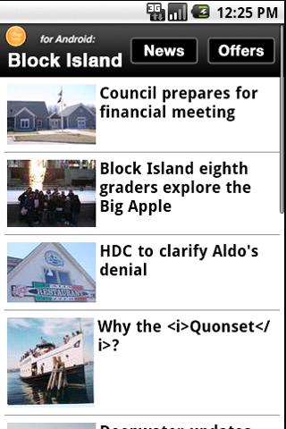 Block Island Times - screenshot