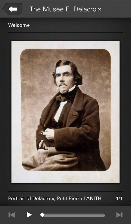 Musée Eugène Delacroix- screenshot