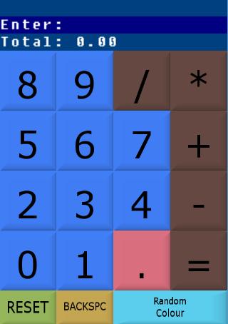 Simple Random Color Calculator