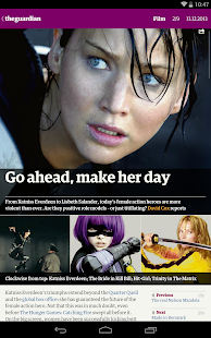 The Guardian daily edition- screenshot thumbnail