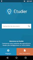 Screenshot of Etudier