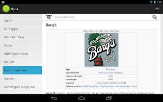 Screenshot of Soda
