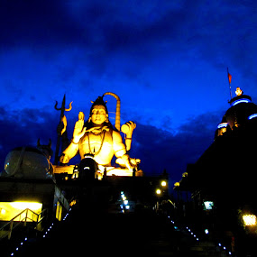 NAMCHI CHARDHAM by Soumitra Biswas - Buildings & Architecture Places of Worship ( statue, lord shiva, india, sikkim, namchi )