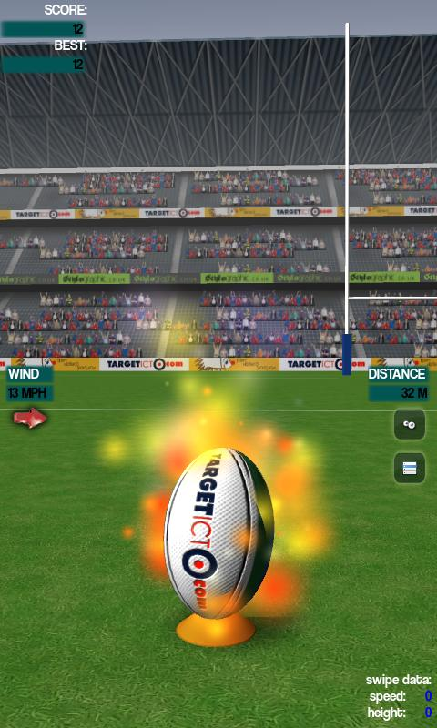 Real Rugby Flick- screenshot
