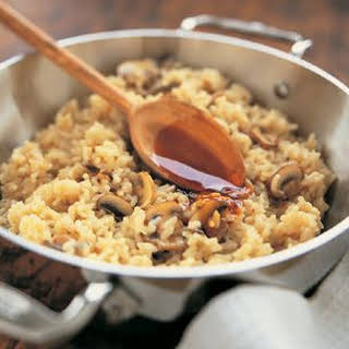 Risotto with Mushrooms.