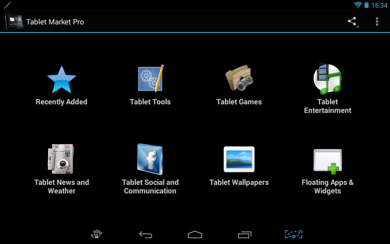Tablet Market - screenshot