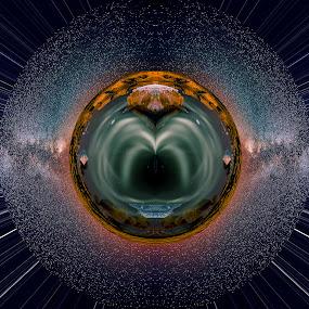 Heart of the galaxy by Ashish Garg - Digital Art Places