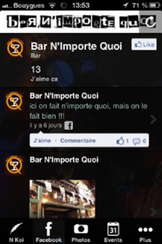 Bar N'Importe Quoi