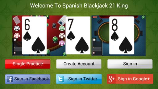 Spanish BlackJack 21 King