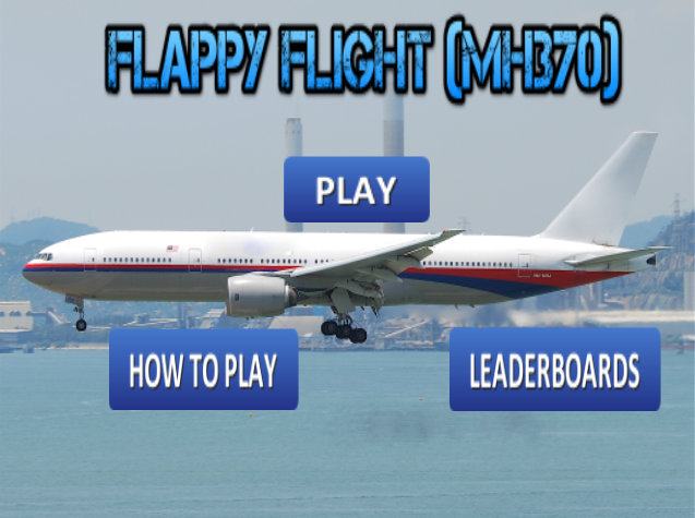 Flappy Flight (MH370) - screenshot