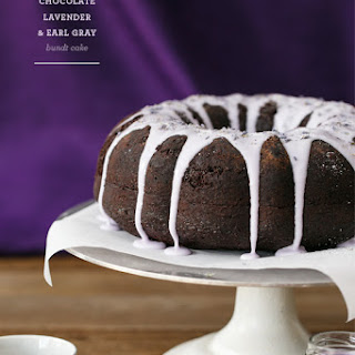 Chocolate Lavender & Earl Gray Bundt Cake