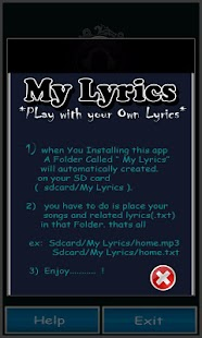 MY Lyrics - screenshot thumbnail