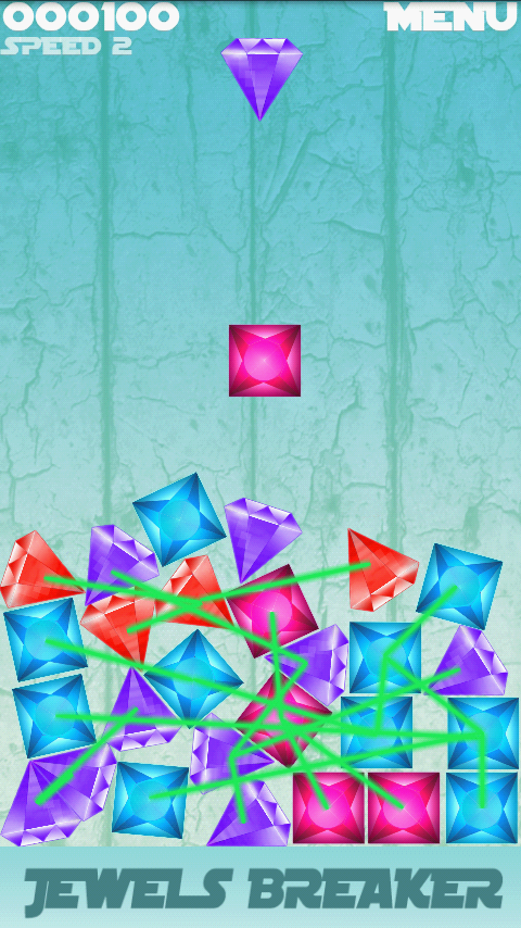 Jewels Diamond Breaker- screenshot