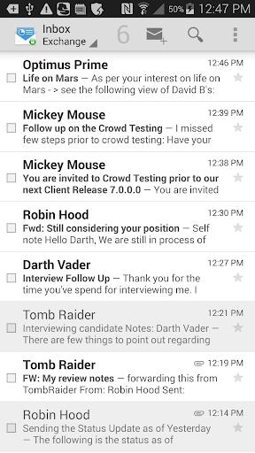 Mobile@Work  screenshots 4