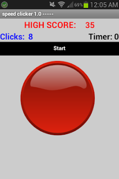 Speed Clicker apk screenshot